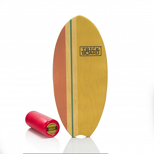 Trickboard Surfer Wave Yellow